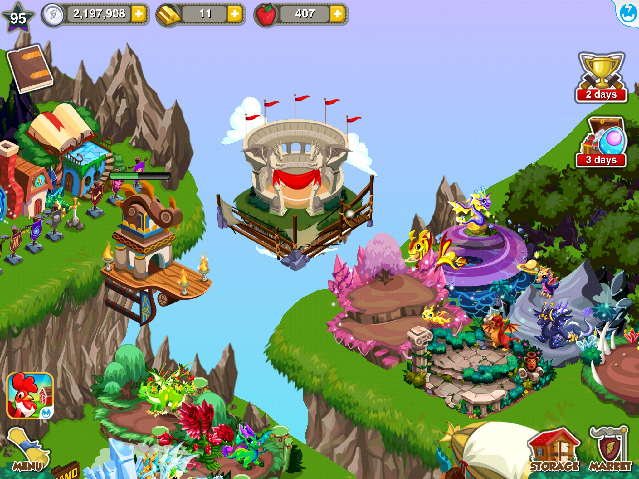 Dragon Story Battle