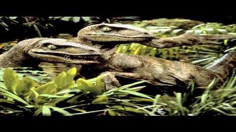 HD Sound Effects - Jurassic Park Velociraptor - Part 2-0