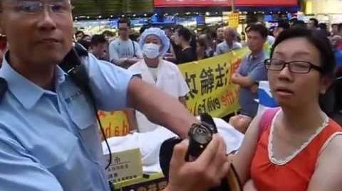 香港警方拒絕給林慧思原因