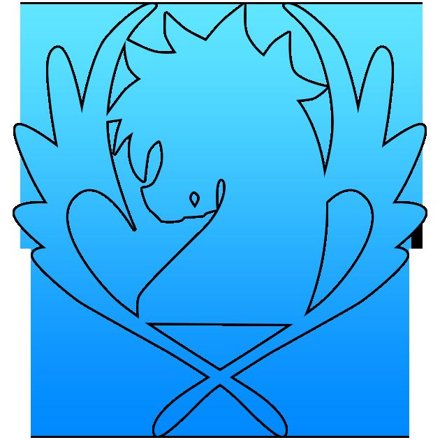 Fairy Tail Guild Names And Symbols Blue pegasus symbol