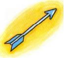 Artwork de la Flecha de luz en Kid Icarus.png