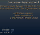 Adventure: Augmentation I