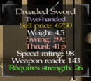 Dreaded Sword