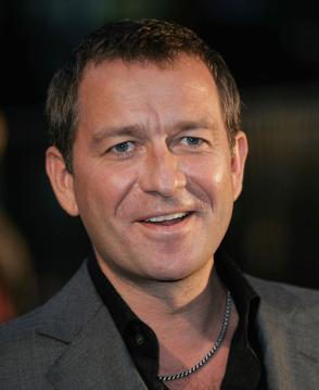 The 53-year old son of father  Jon Pertwee and mother Ingeborg Rhoesa, 183 cm tall Sean Pertwee in 2017 photo