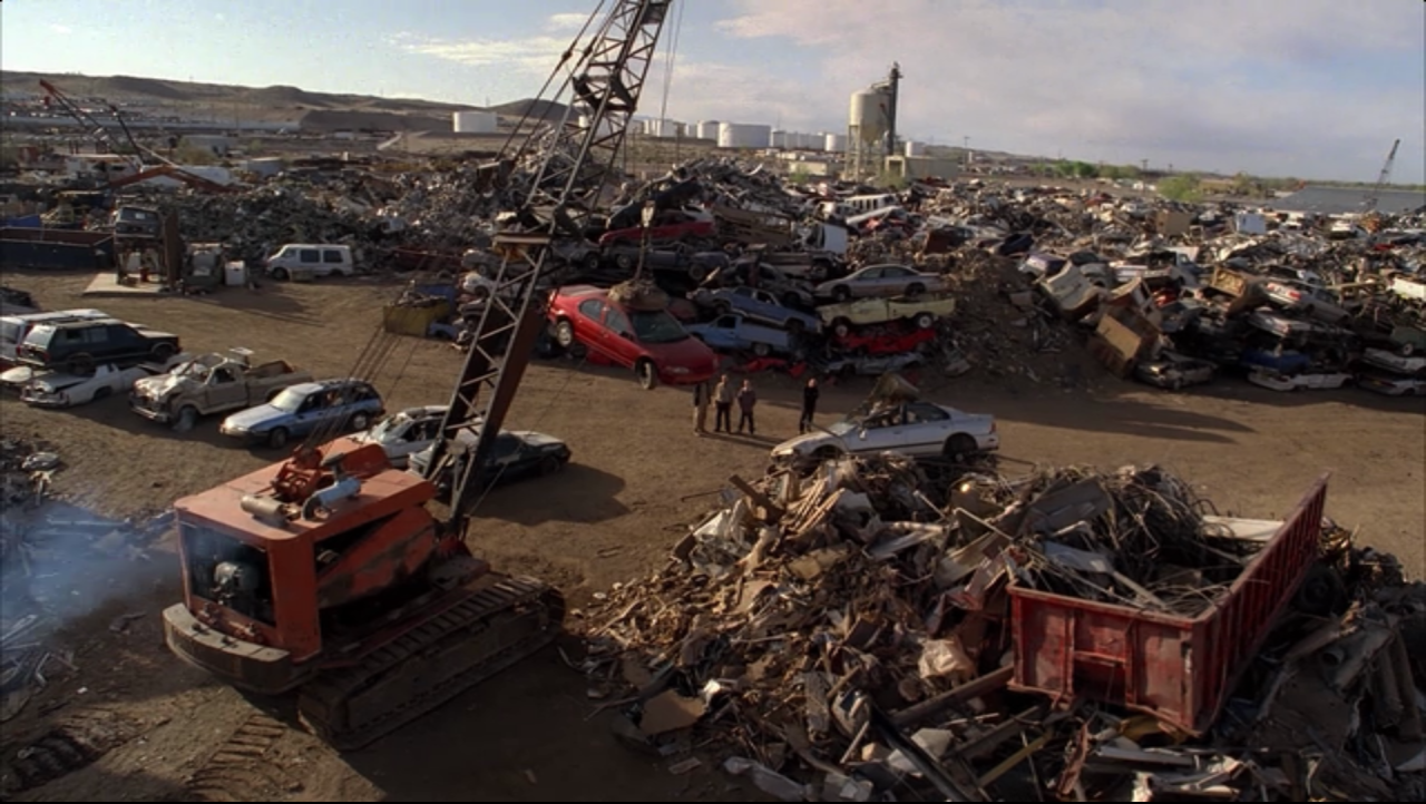 Salvage yards that take junk cars