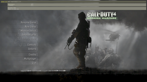 developer console the call of duty wiki black ops ii ghosts and more. Black Bedroom Furniture Sets. Home Design Ideas
