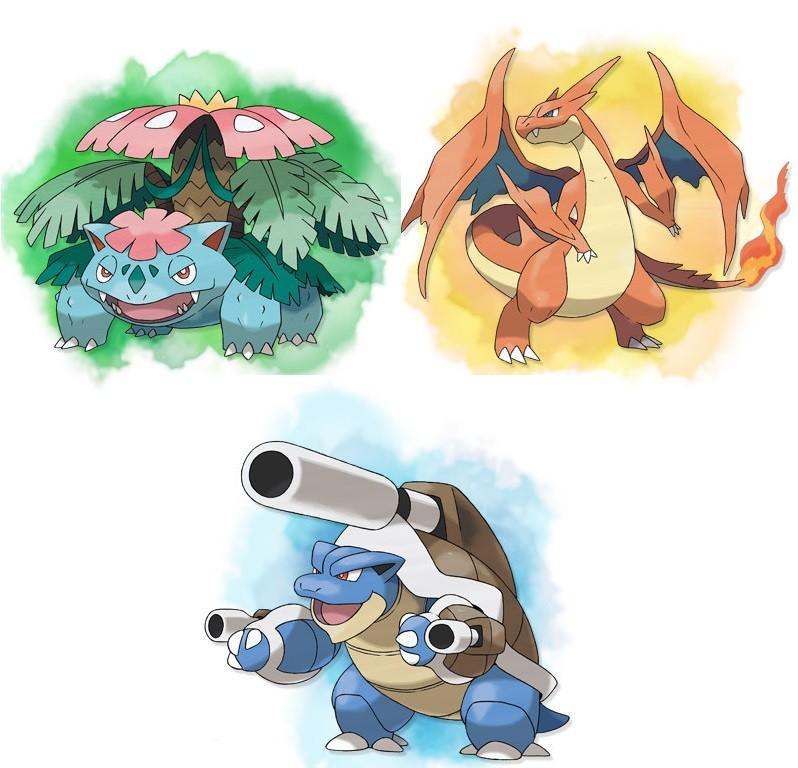 Pok mon x et y les m ga volution - X evolution pokemon ...