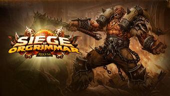 Siege of Orgrimmar 5.4 logo