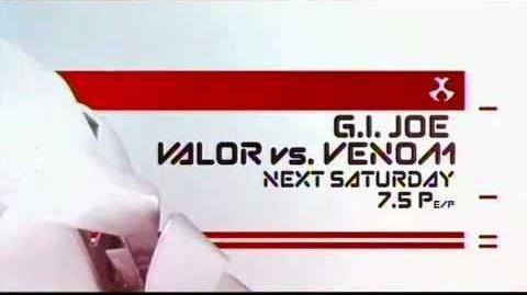 G.I. Joe Valor vs Venom Toonami Promo