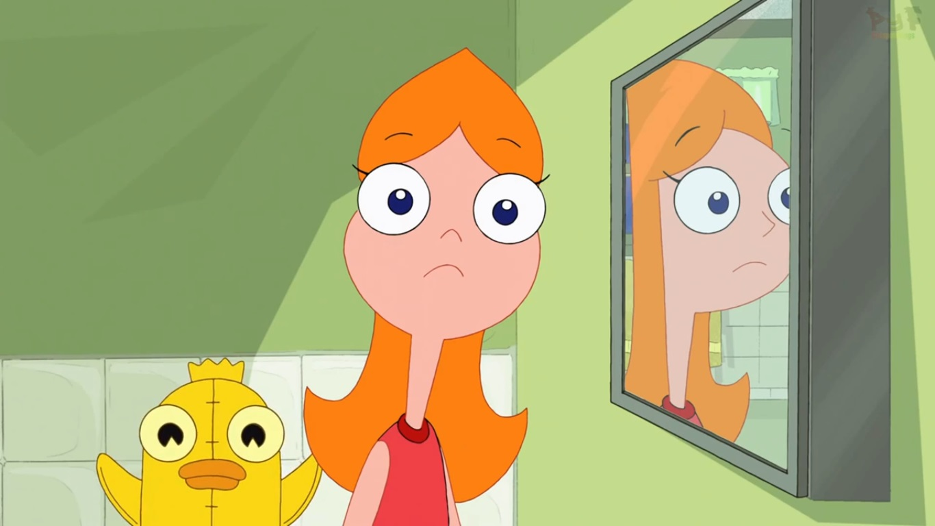 Image Possessed Ducky Momo Behind Candace In The