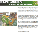Dark Mobius - Knuckles' Descent
