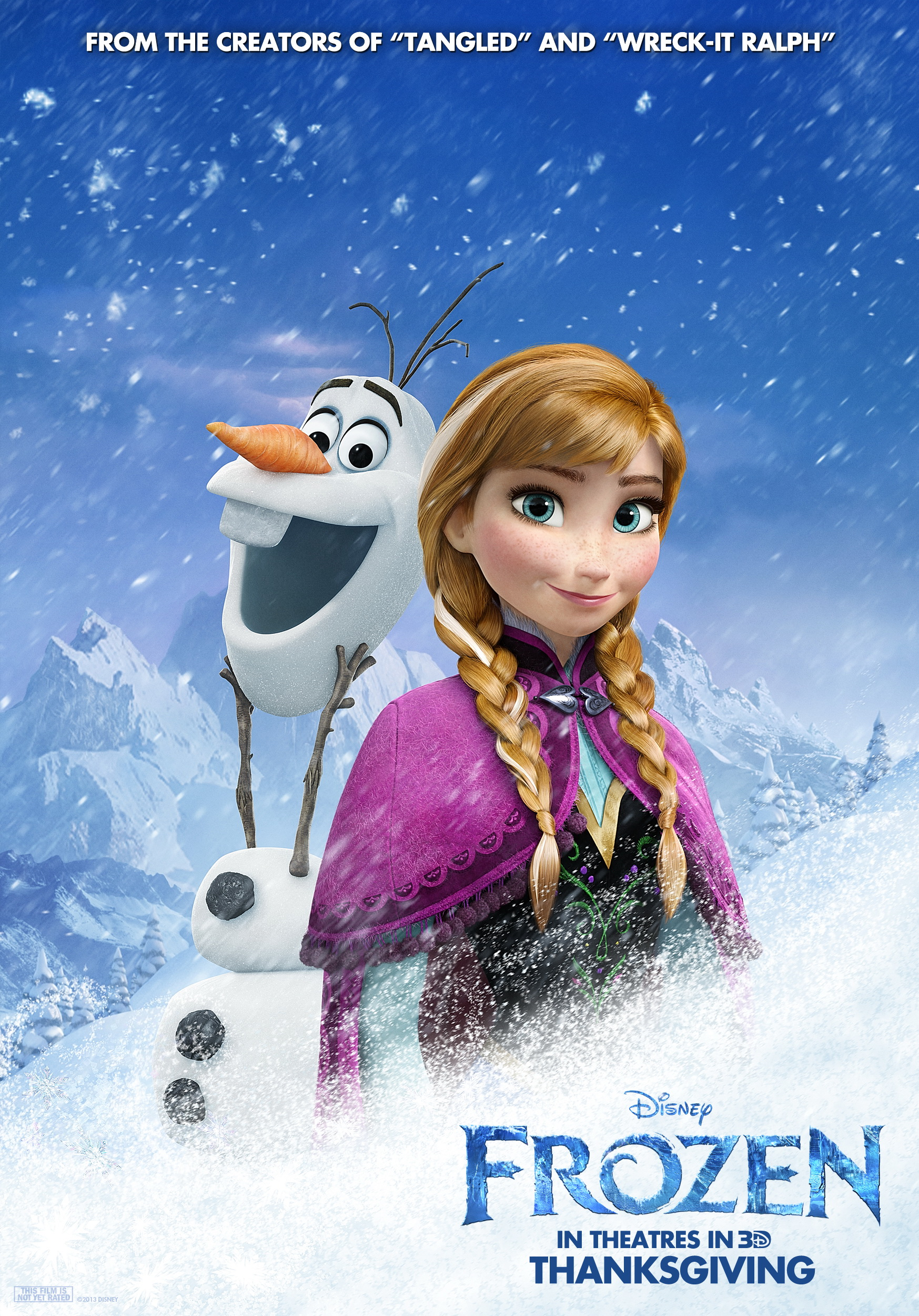 Image frozen anna disney wiki - Frozen anna and olaf ...