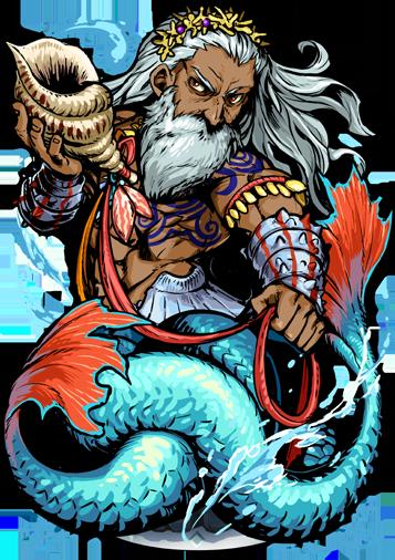 Triton the Sea God - Blood Battalion Wiki