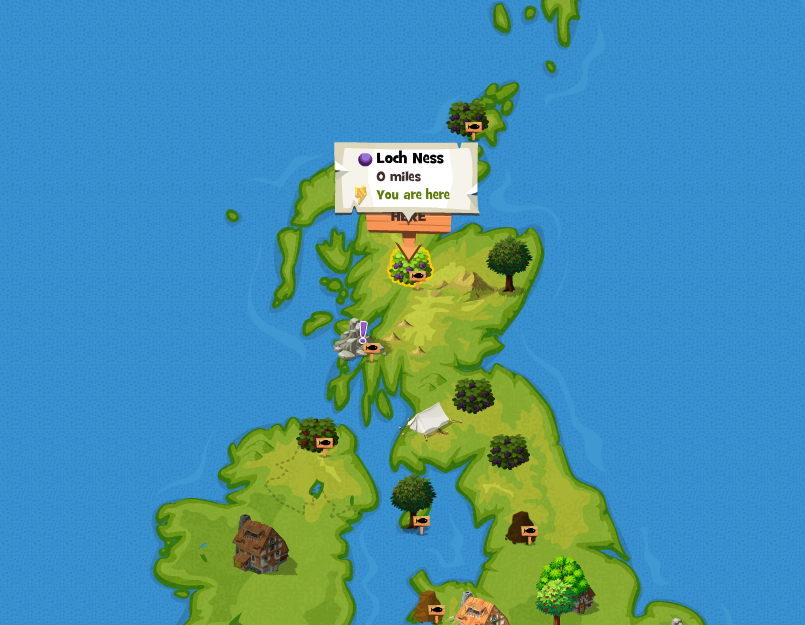 Loch Ness Location Png