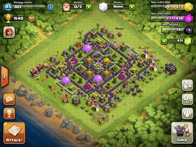 هک Clash of Clans قیمت كلش آو كلنز فروش كلش آو كلنز فروش Clash OF Clans درآمد سوپرسل