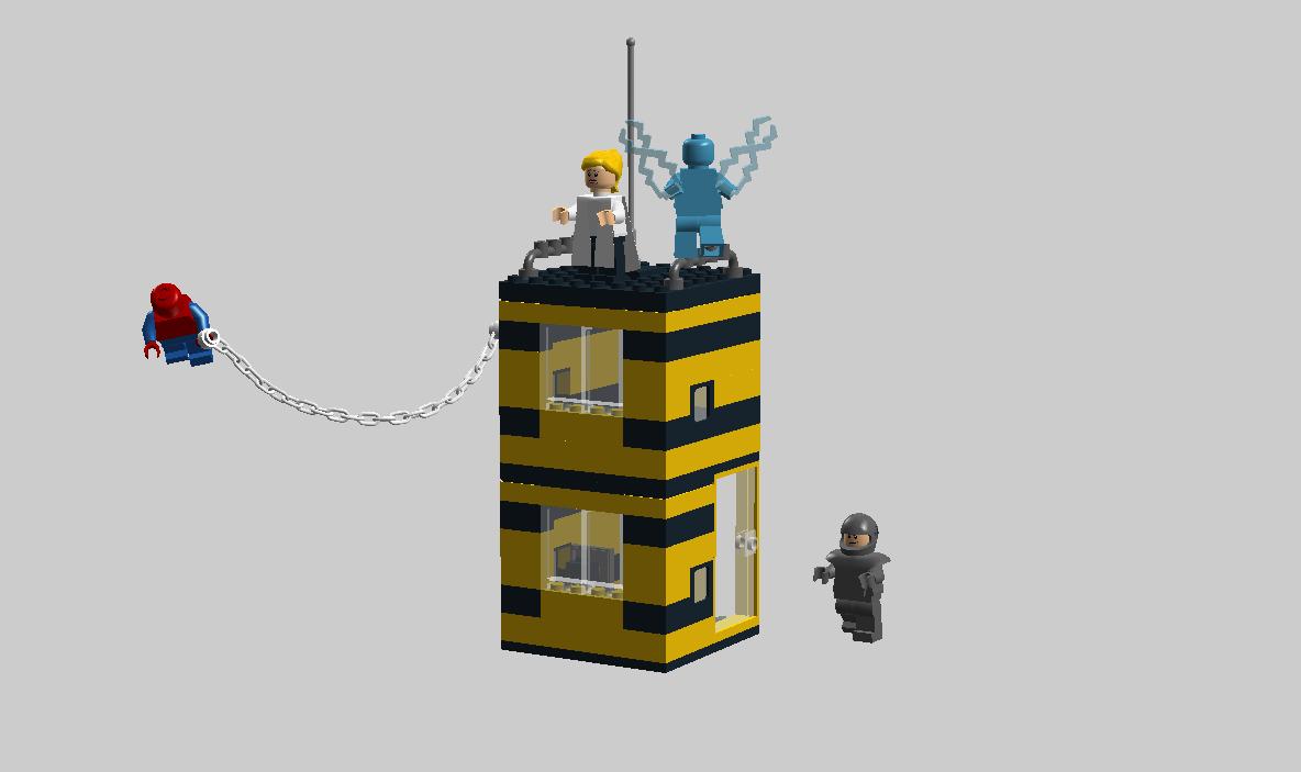 Lego ultimate spider man electro - photo#17