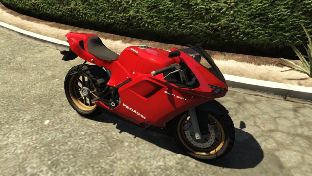 Как сделать мотоцикл в гта 5 905