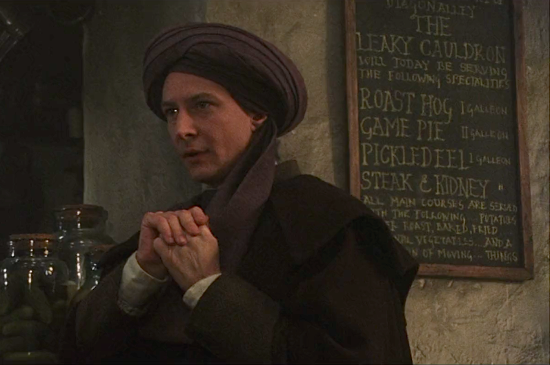 quirrell and harry meet