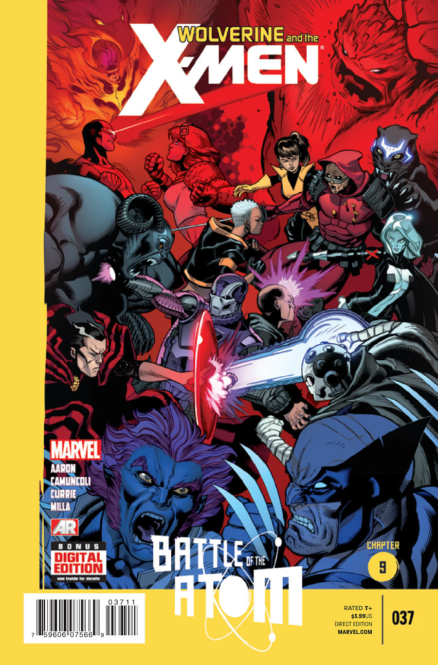 Wolverine And The X Men Vol 1 37 Marvel Comics Database
