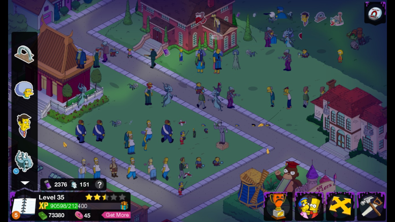 The Simpsons Tapped Out BlueStacks