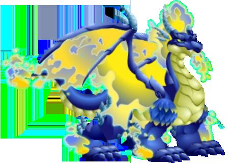 Blue Fire Dragon - Dragon City Wiki