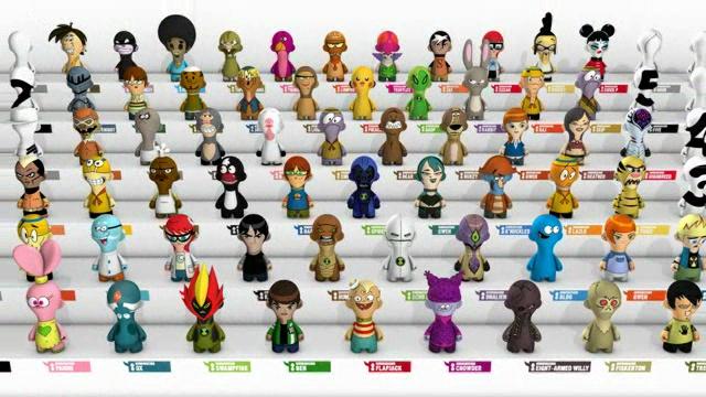 Image - Cartoon Network Noods collection.jpg - Cartoon Network Wiki ...