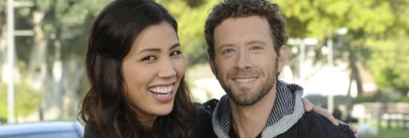 Michaela Conlin and tj thyne