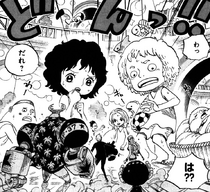 Straw Hats Encounter Kids on Punk Hazard