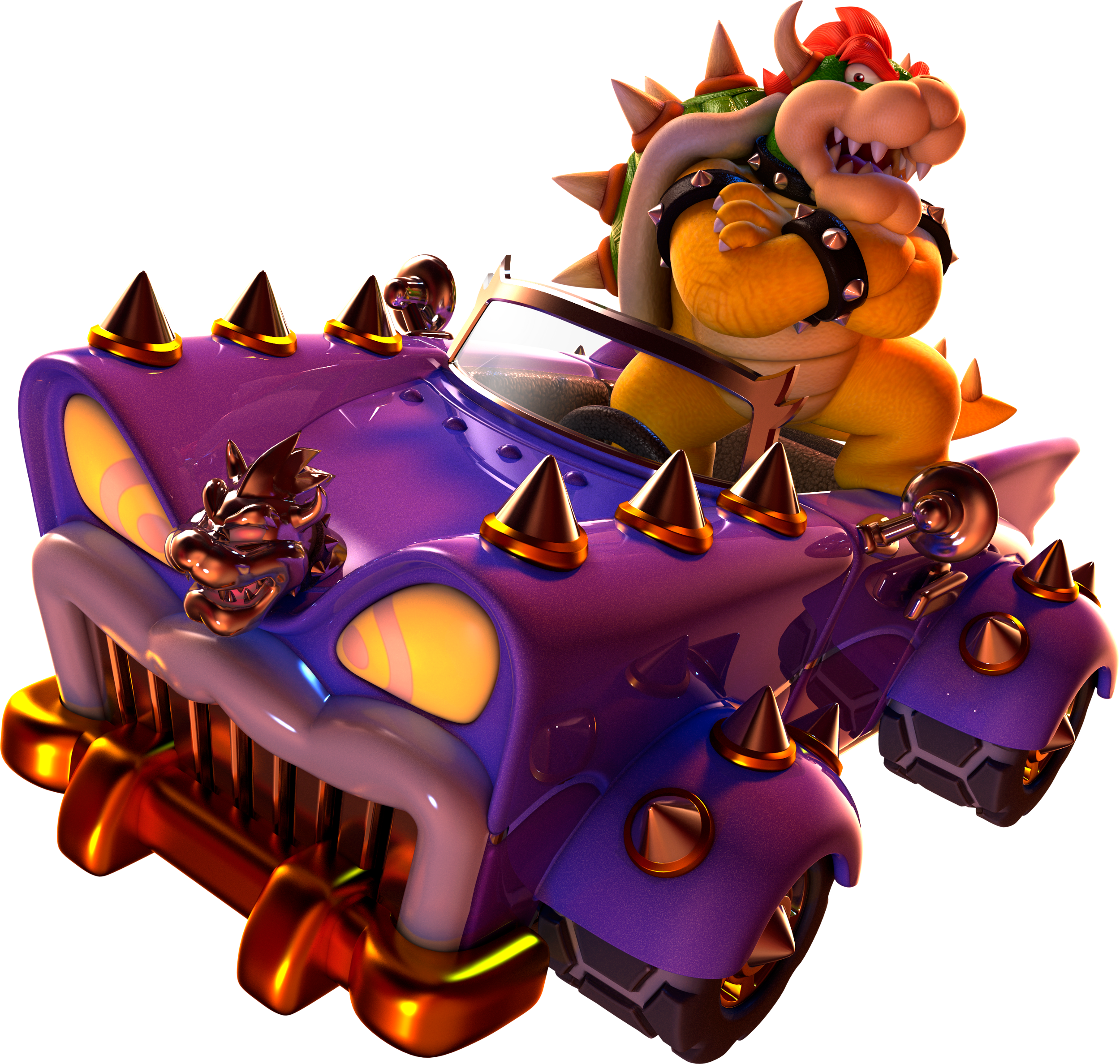 I'm glad it's Dry Bowser as the Bowser Clone we got
