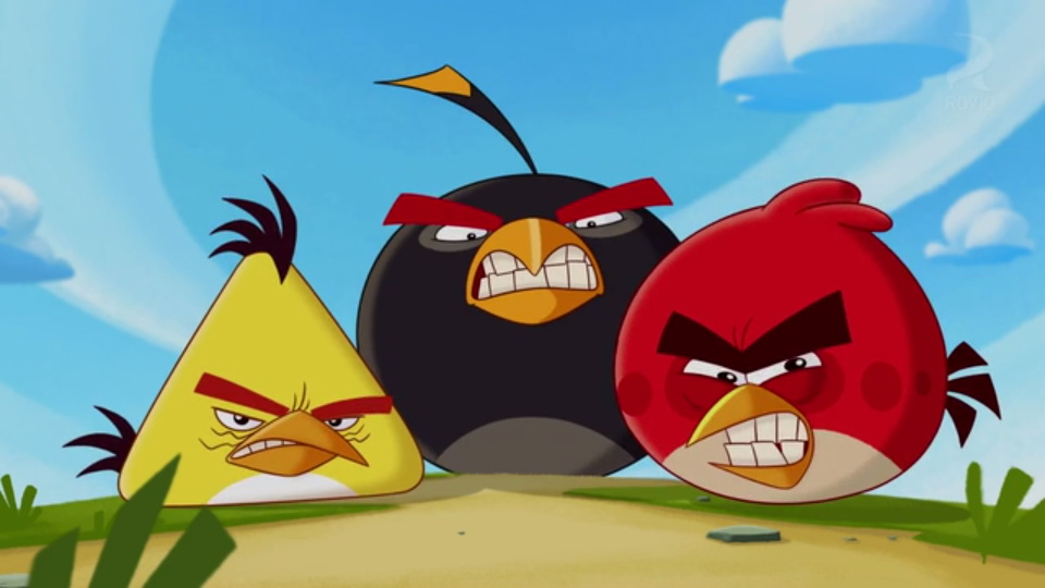 Angry Birds Toons Characters Eggs By Brunomilan13 On: Sudden Eye Colour