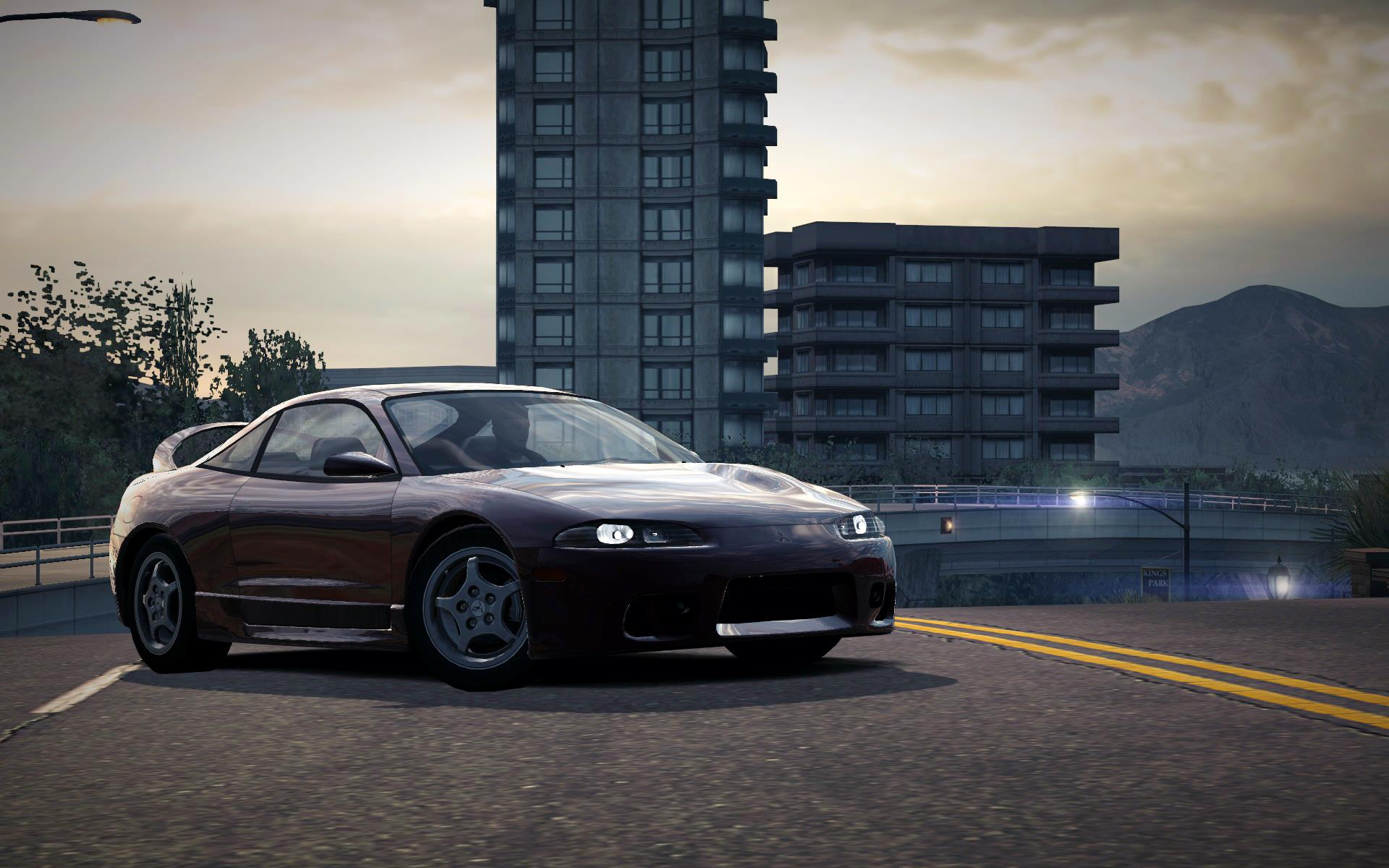 Review de TODOS os carros do jogo CarRelease_Mitsubishi_Eclipse_GS-T_Purple
