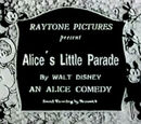 Alice's Little Parade