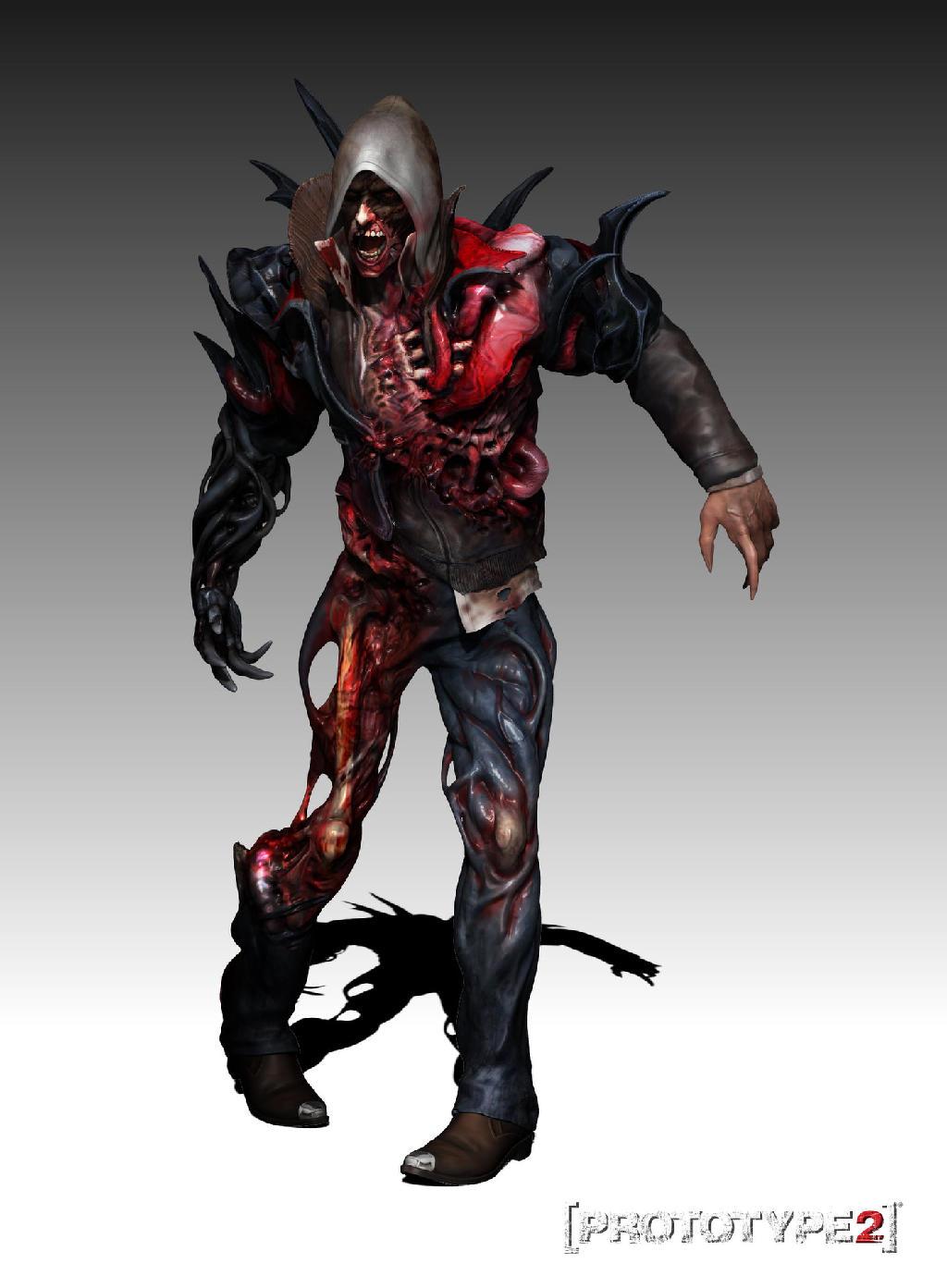 Image - Zombie Alex Mercer Full Body.jpg - Prototype Wiki ...