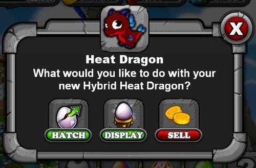 Heat Dragon DragonVale
