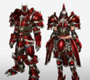 MHFG Red Hidden Armor Set Renders