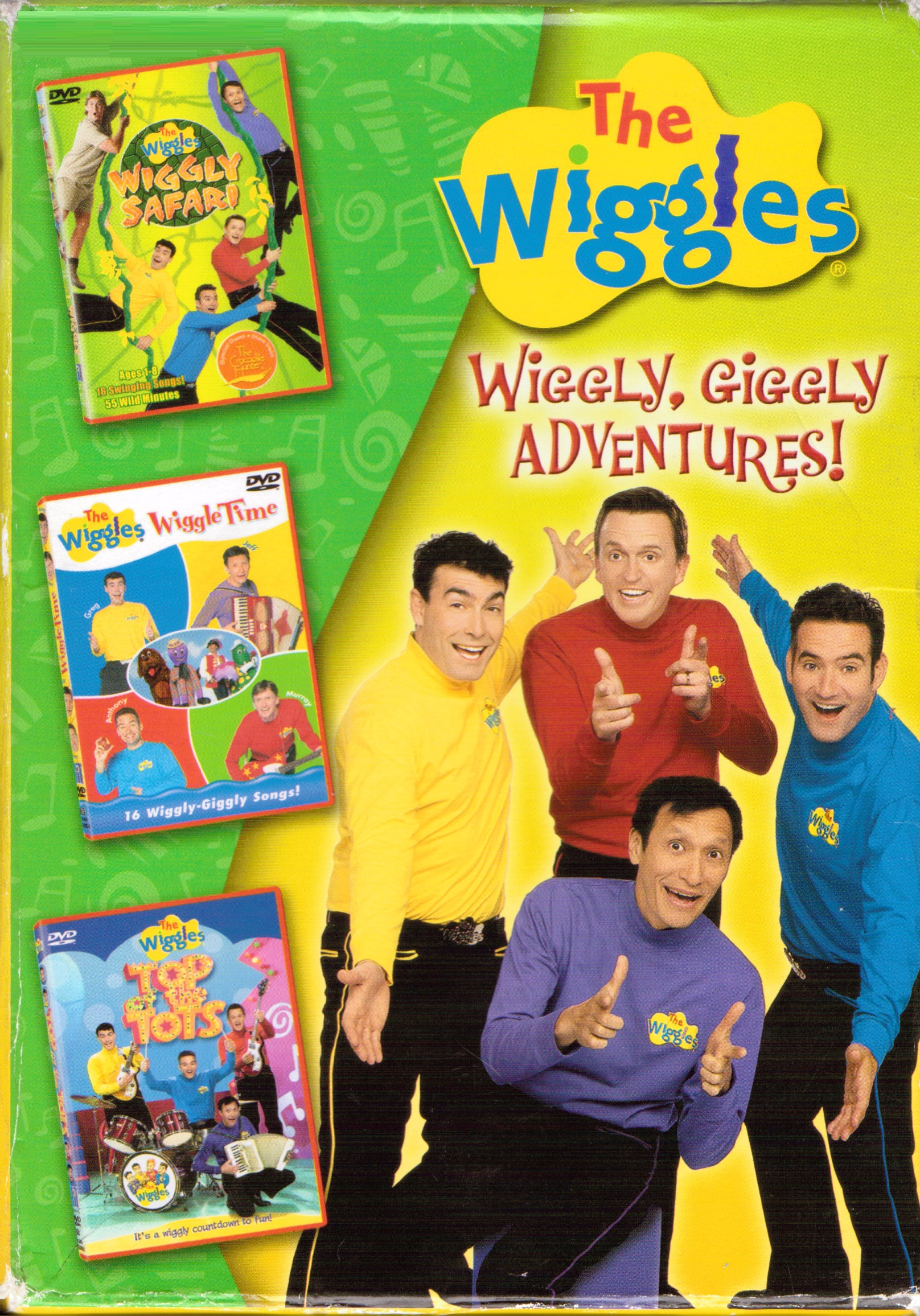 Wiggly  Giggly Adventures  - WikiWigglesThe Wiggles Wiggly Wiggly World Vhs