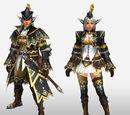 MHFG Premium Armor Set Renders