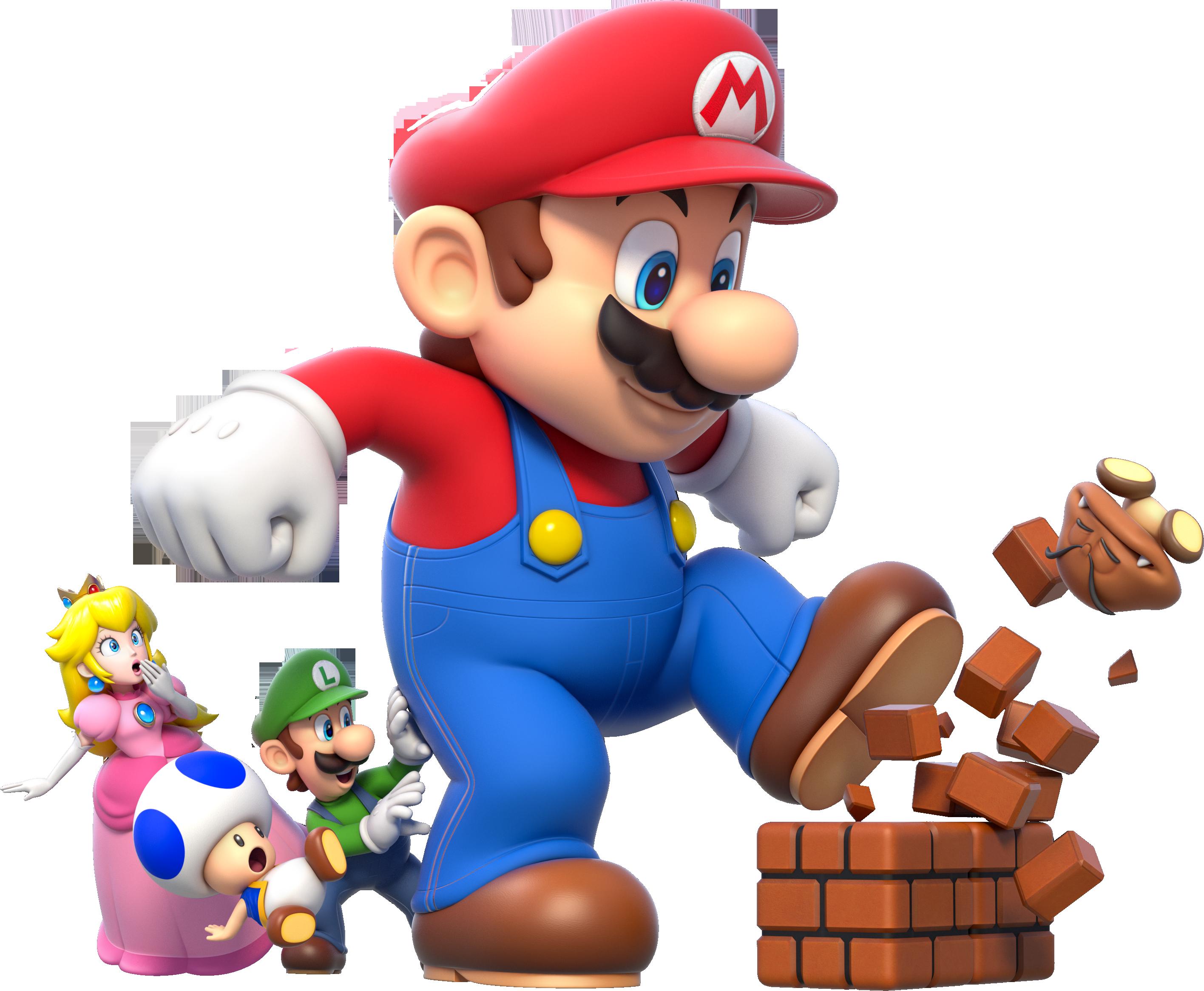 Image Mega Mario Group Artwork Super Mario 3d World