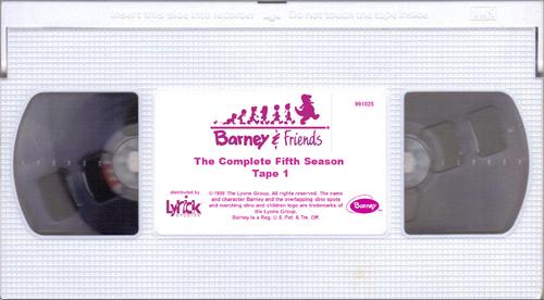 Barney Amp Friends The Complete Fifth Season Custom