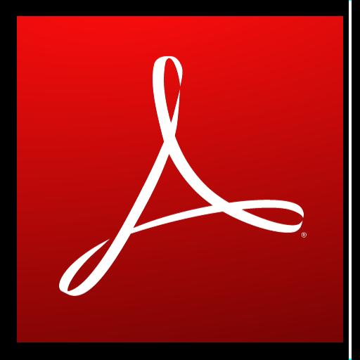 Adobe Reader Logo Adobe Reader v9 0 icon