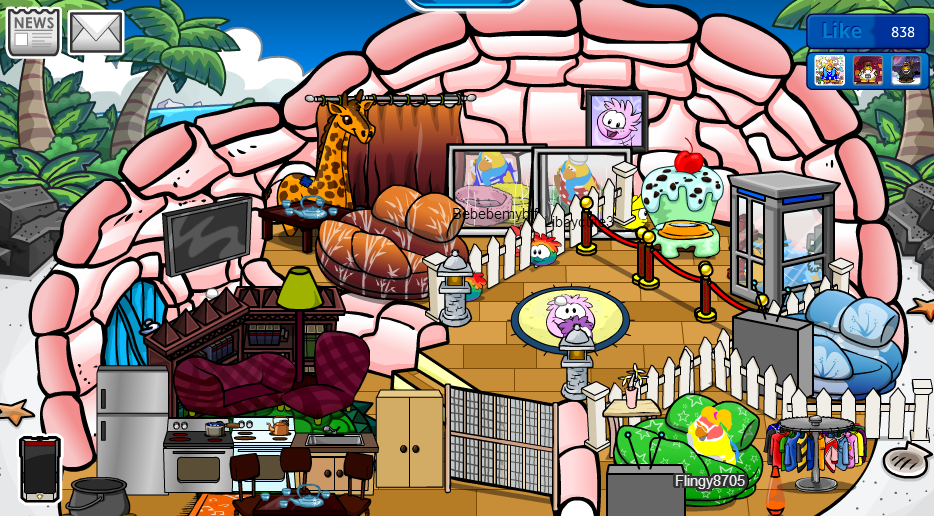 Club Penguin Pookie Igloo