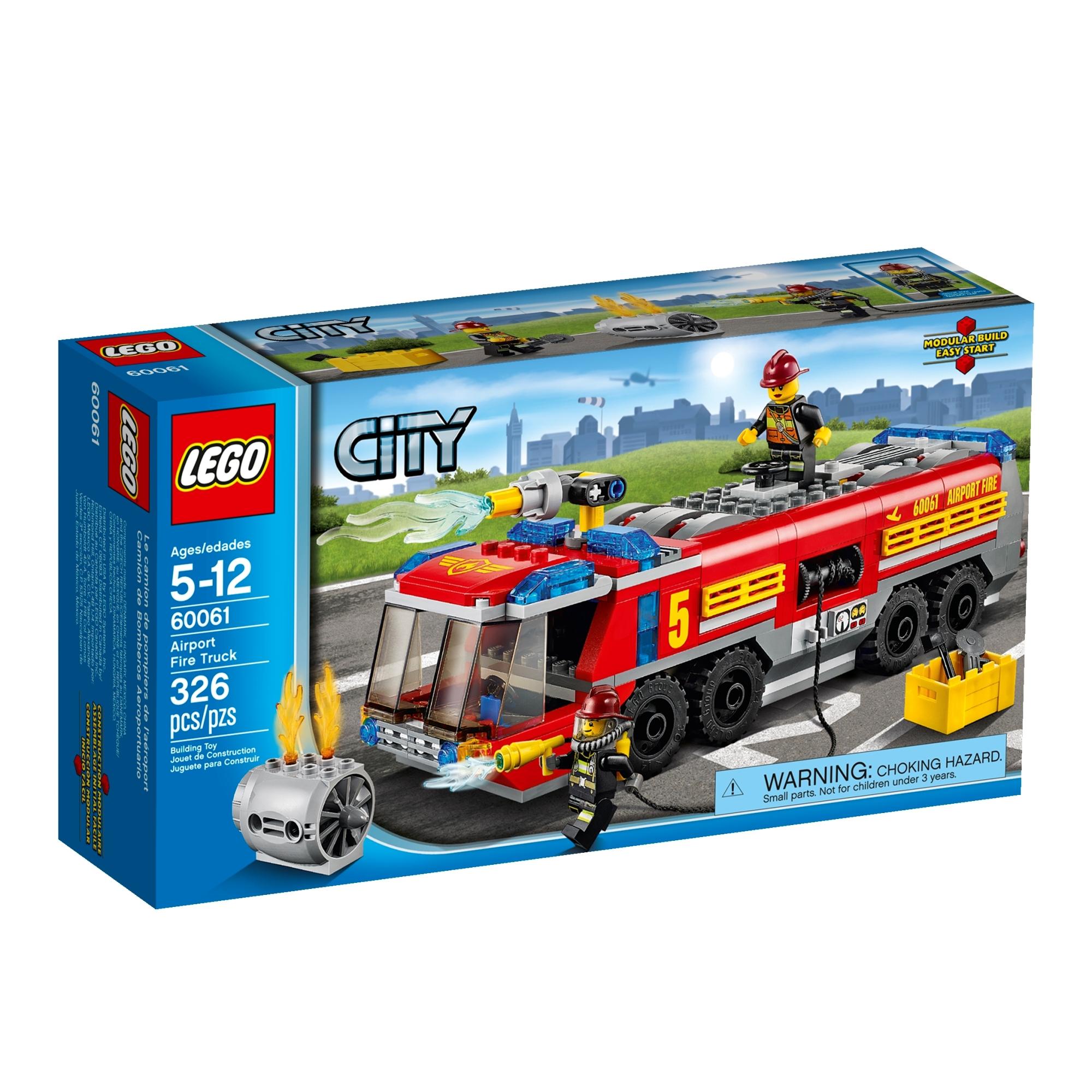 60061 Airport Fire Truck - Brickipedia, the LEGO Wiki