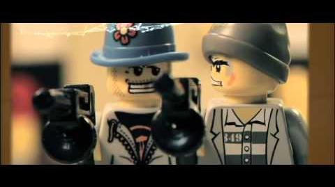 """""""The Wild Crunch"""" Stop Motion action without brickarms"""