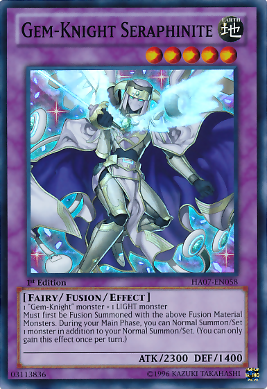 New archtype - Shadoll GemKnightSeraphinite-HA07-EN-SR-1E