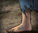 Rare Footpad's Sign