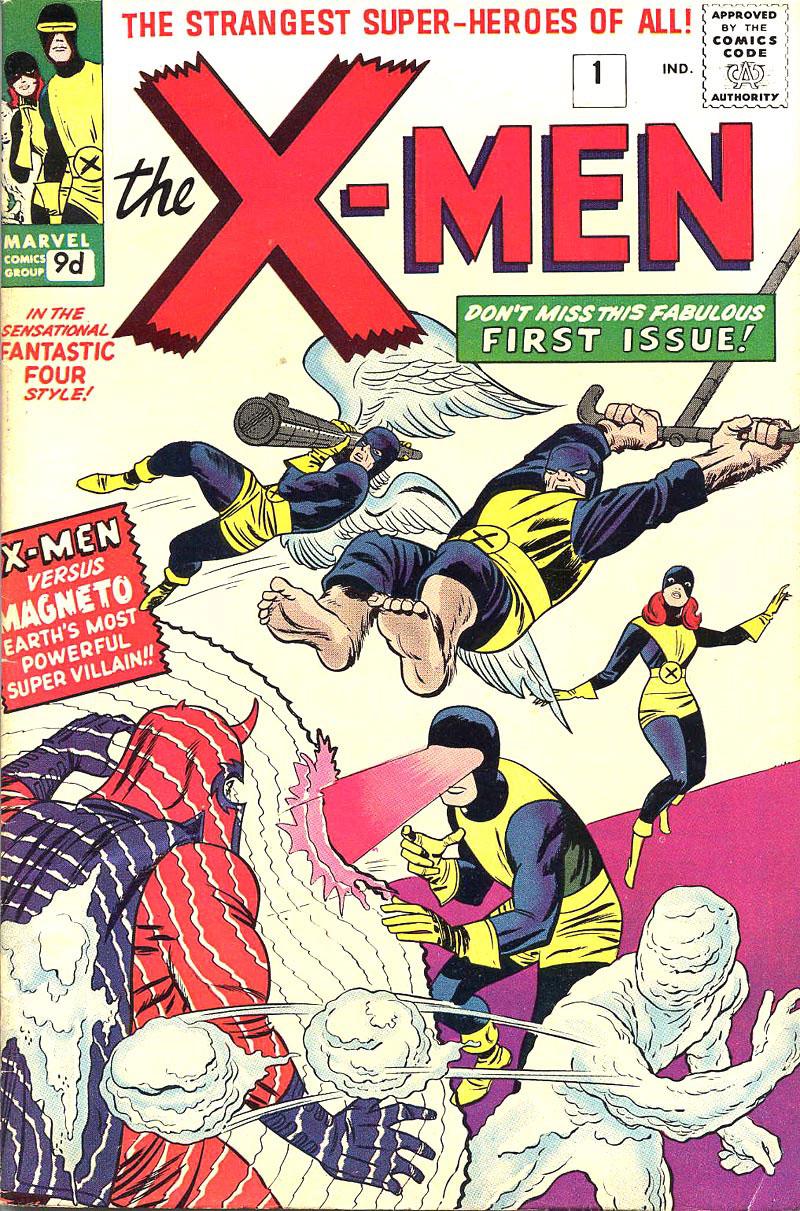 The x men vol 1 1 marvel wiki