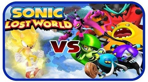 Sonic Lost World (Wii U) - Super Sonic Boss Fights (The Deadly Six)