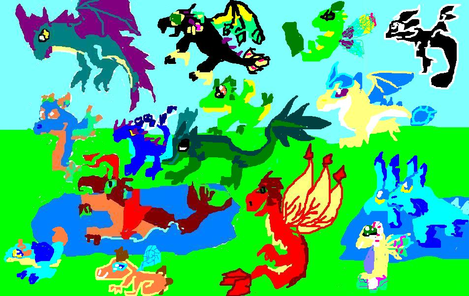 user willdragonart1223 the drawing competition