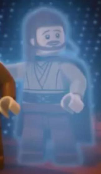 Qui gon jinn brickipedia the lego wiki - Lego star wars anakin ghost ...