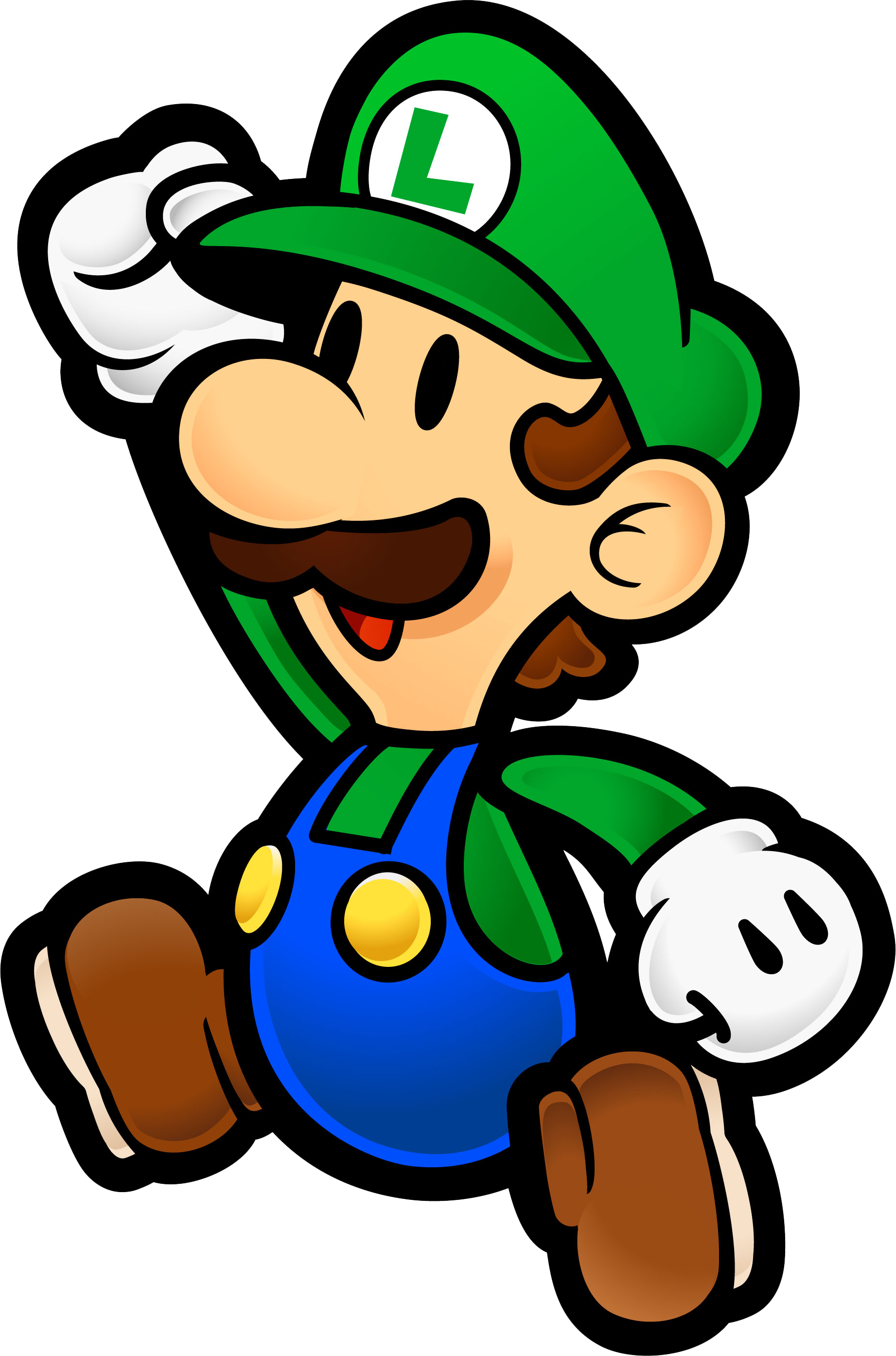 Holiday Coloring Pages Paper Mario PaperLuigi